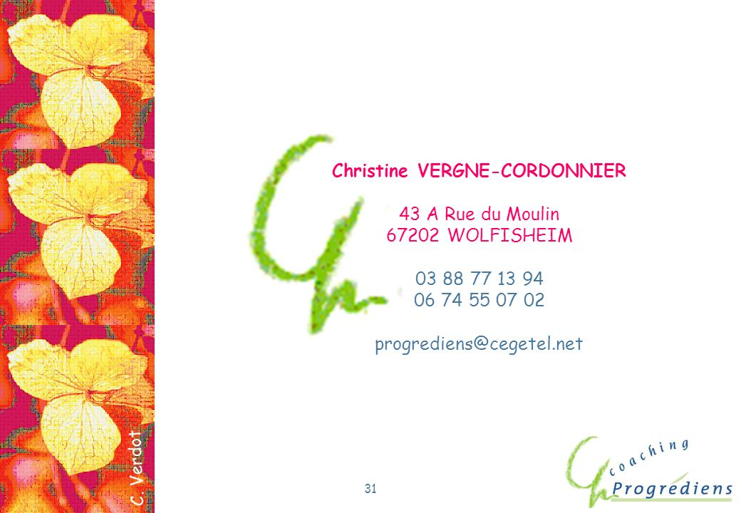 Christine VERGNE-CORDONNIER