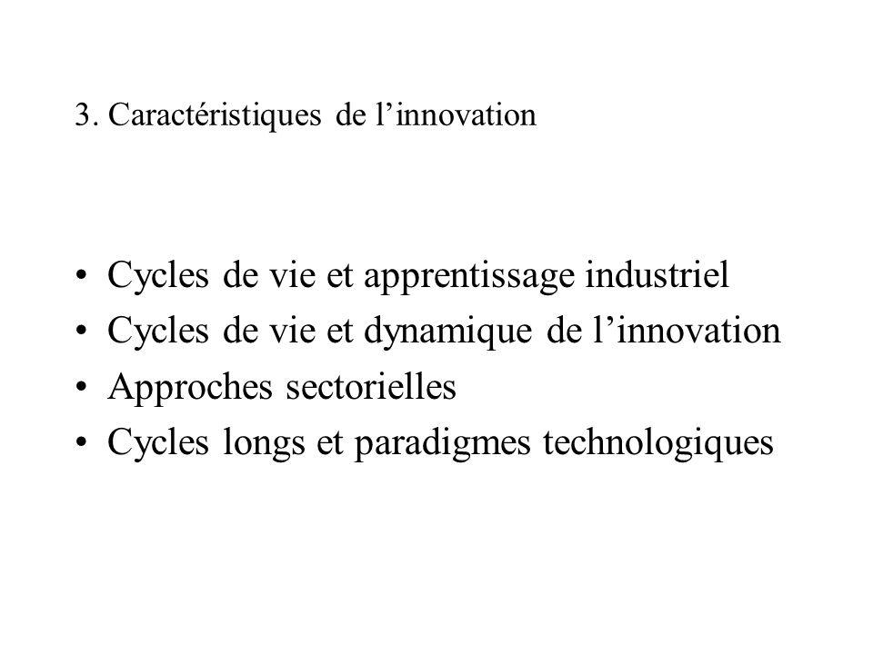 3. Caractéristiques de l'innovation