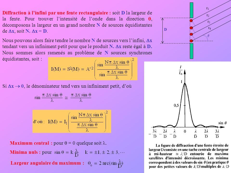 Si Dx  0, le dénominateur tend vers un infiniment petit, d'où