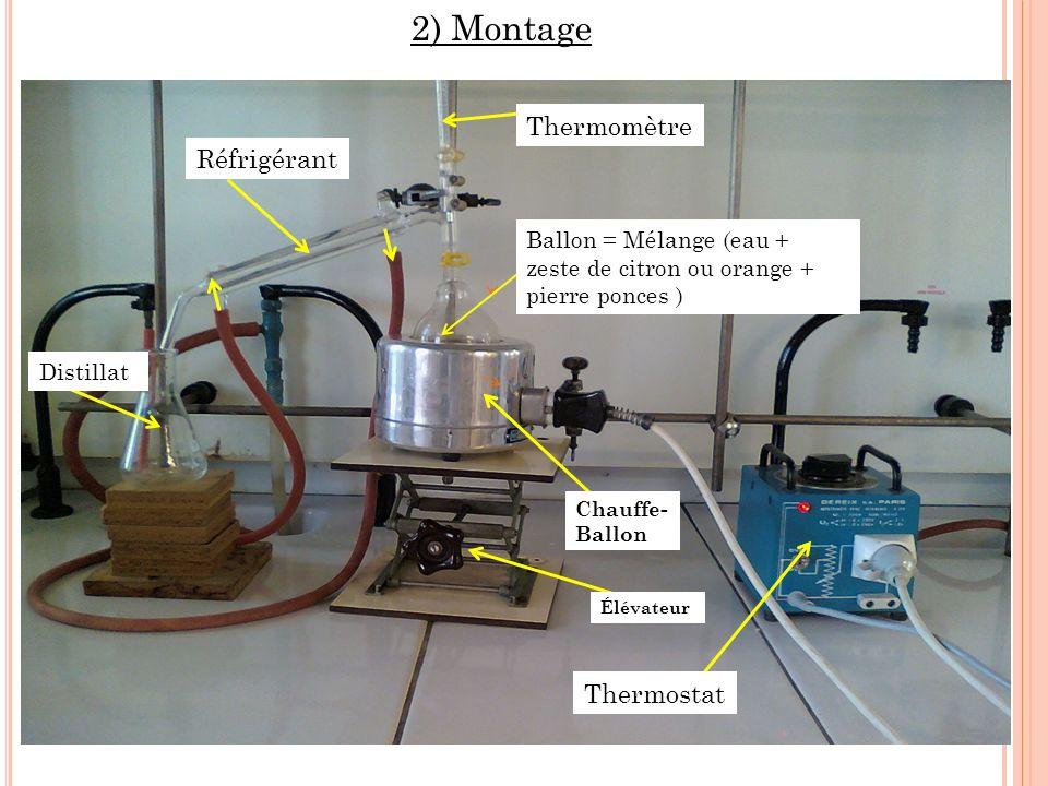 2) Montage Thermomètre Réfrigérant Thermostat