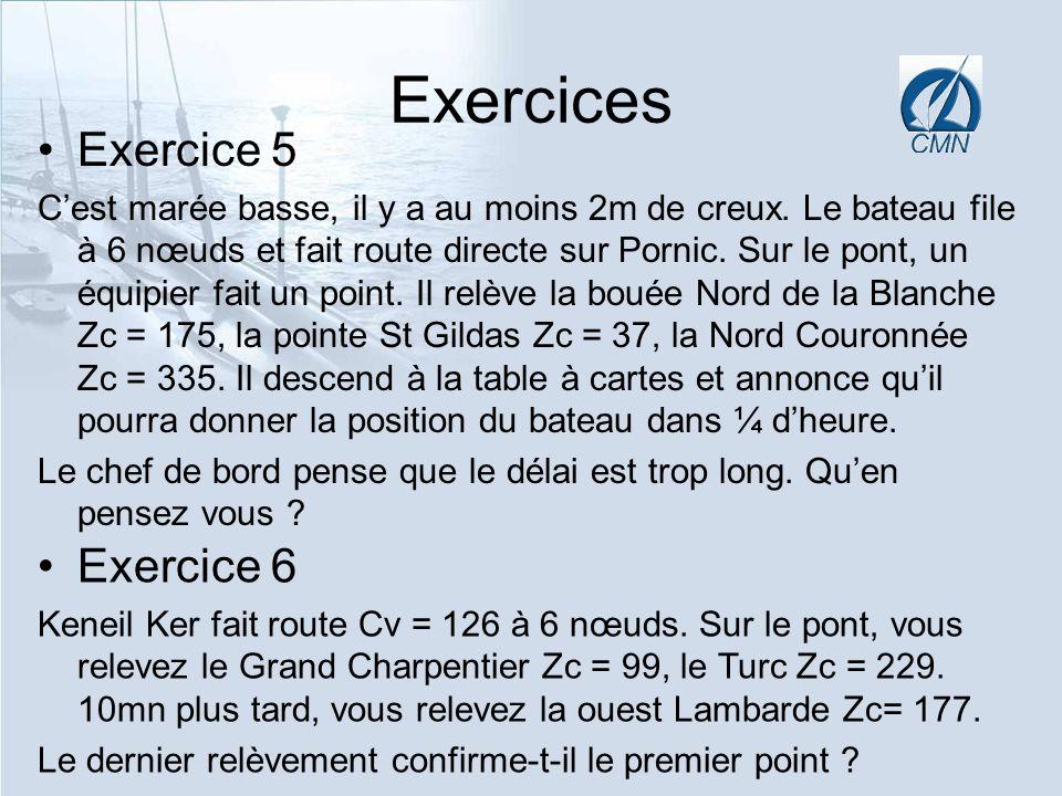 Exercices Exercice 5 Exercice 6