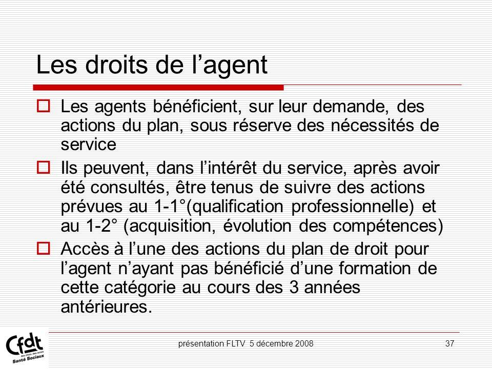 présentation FLTV 5 décembre 2008