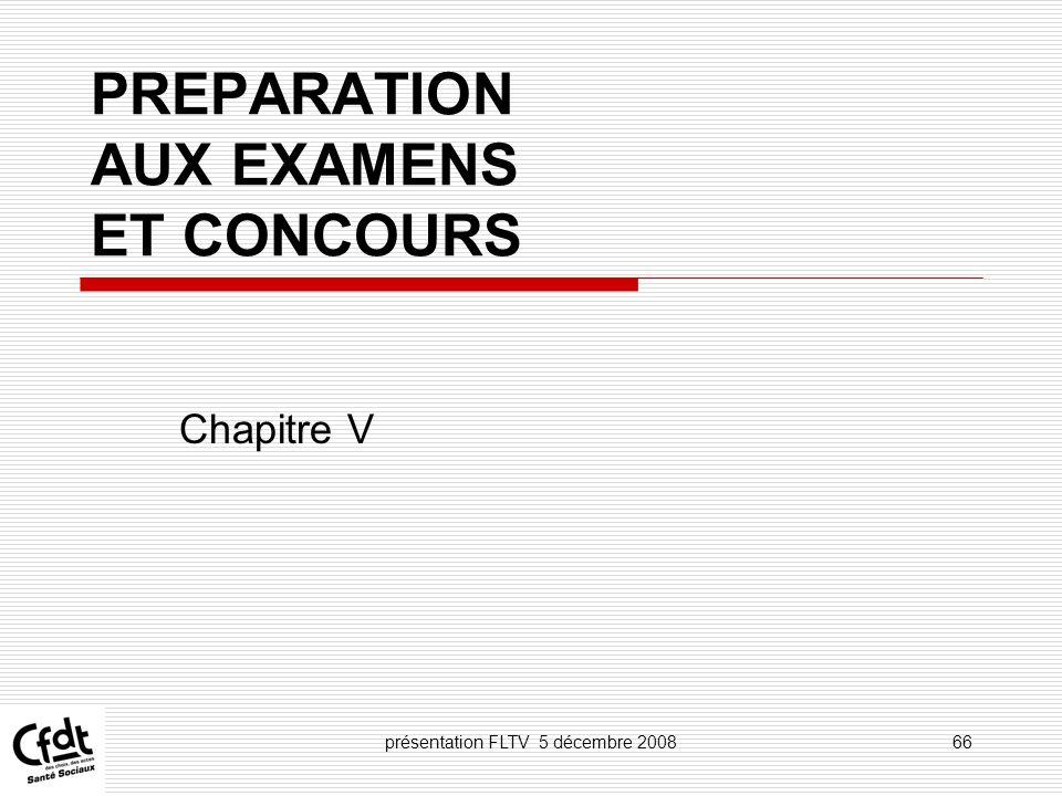 PREPARATION AUX EXAMENS ET CONCOURS