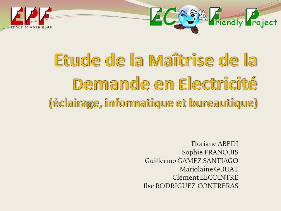 Etude de la Maîtrise de la Demande en Electricité (éclairage, informatique et bureautique)