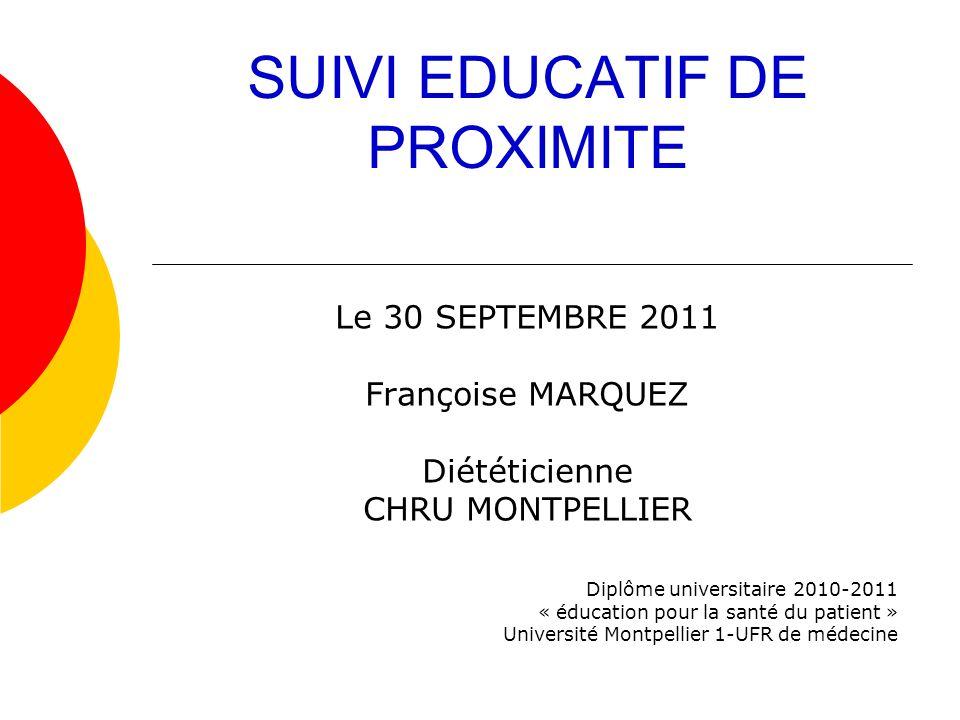 SUIVI EDUCATIF DE PROXIMITE