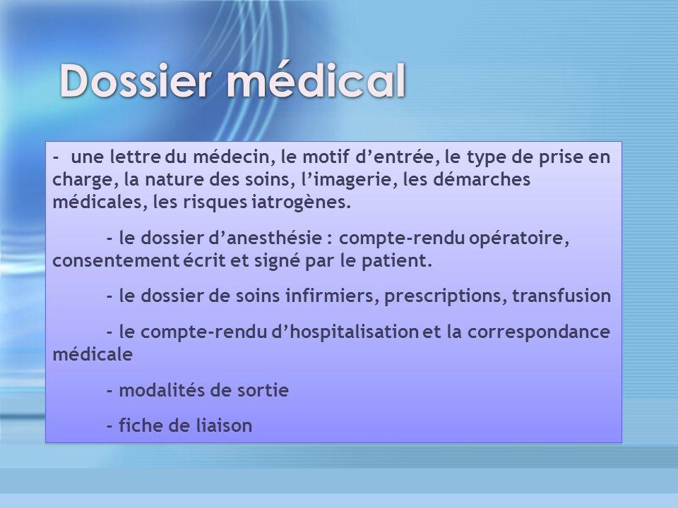 3636 Dossier médical.
