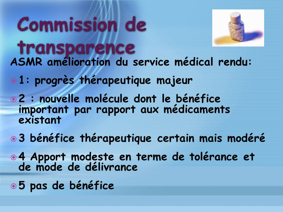 Commission de transparence