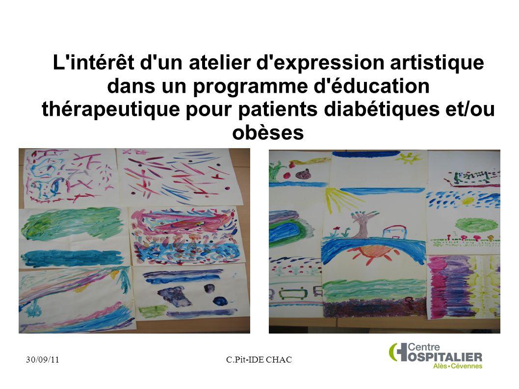 L intérêt d un atelier d expression artistique dans un programme d éducation thérapeutique pour patients diabétiques et/ou obèses