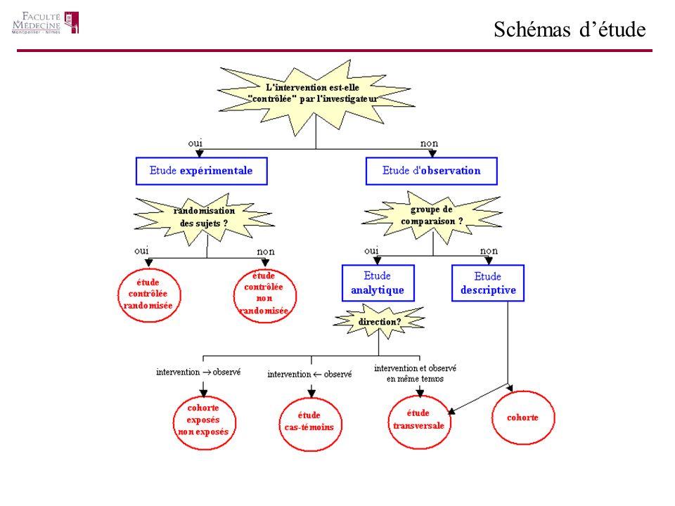 Schémas d'étude