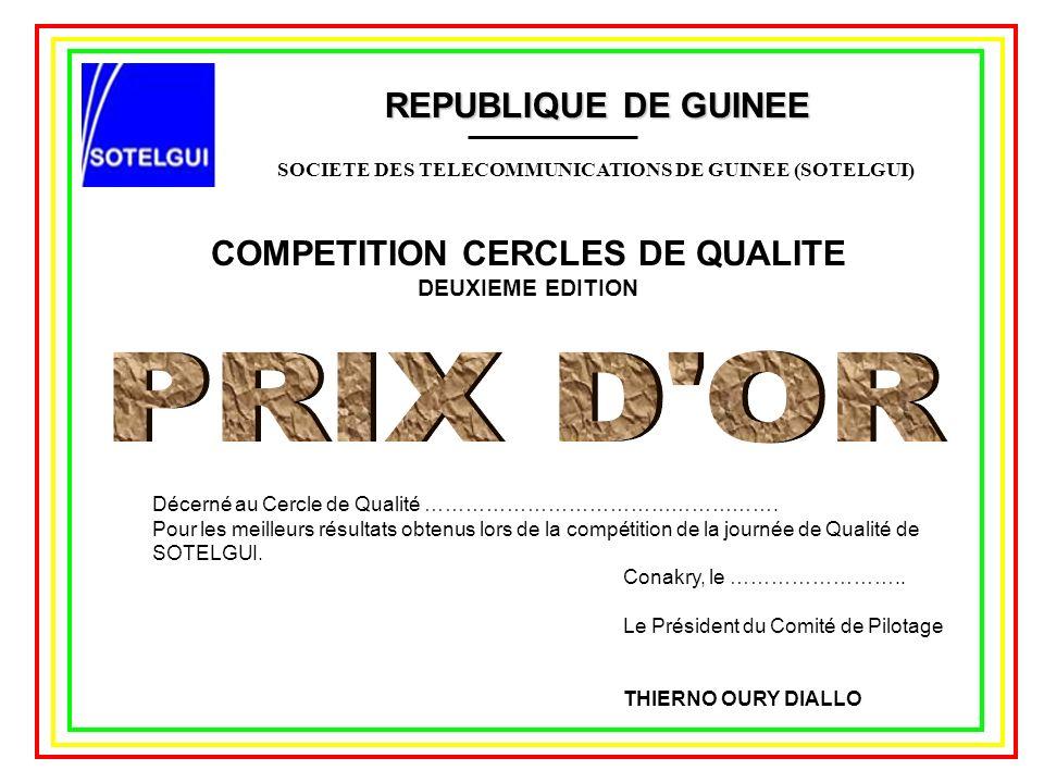 SOCIETE DES TELECOMMUNICATIONS DE GUINEE (SOTELGUI)