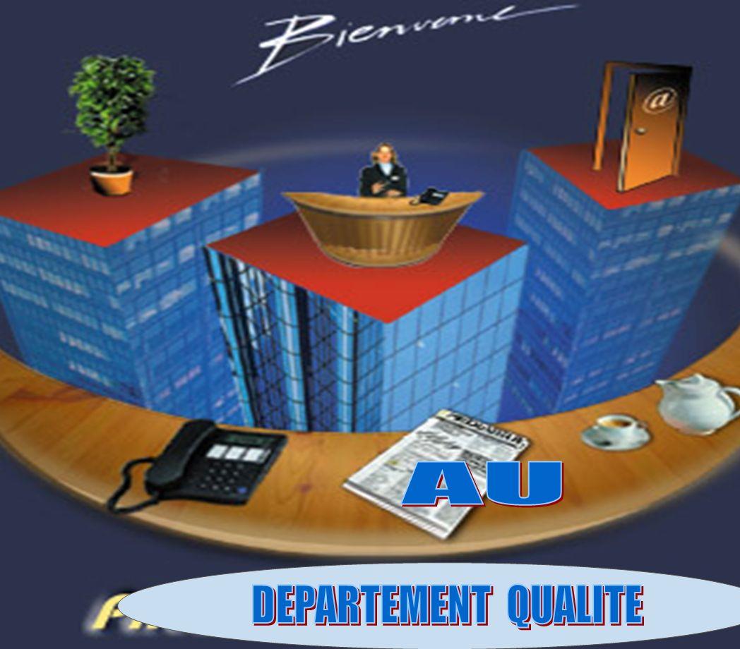 Département Qualité Juin 2007