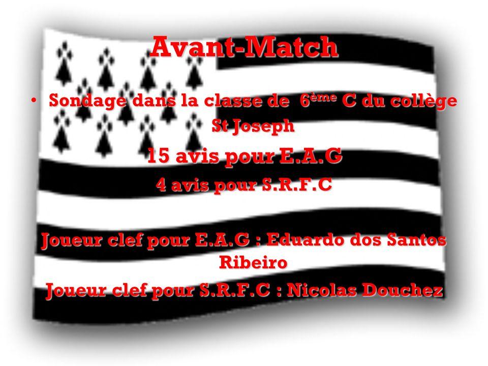 Avant-Match 15 avis pour E.A.G