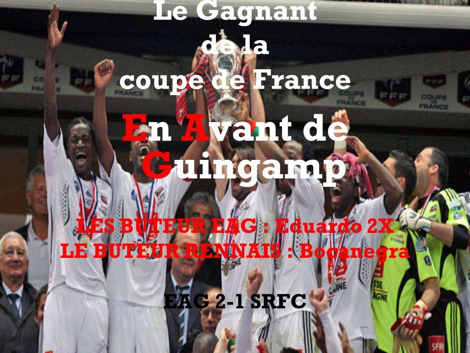 Le Gagnant de la coupe de France