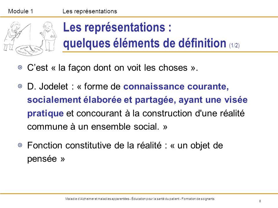 Les représentations : quelques éléments de définition (1/2)