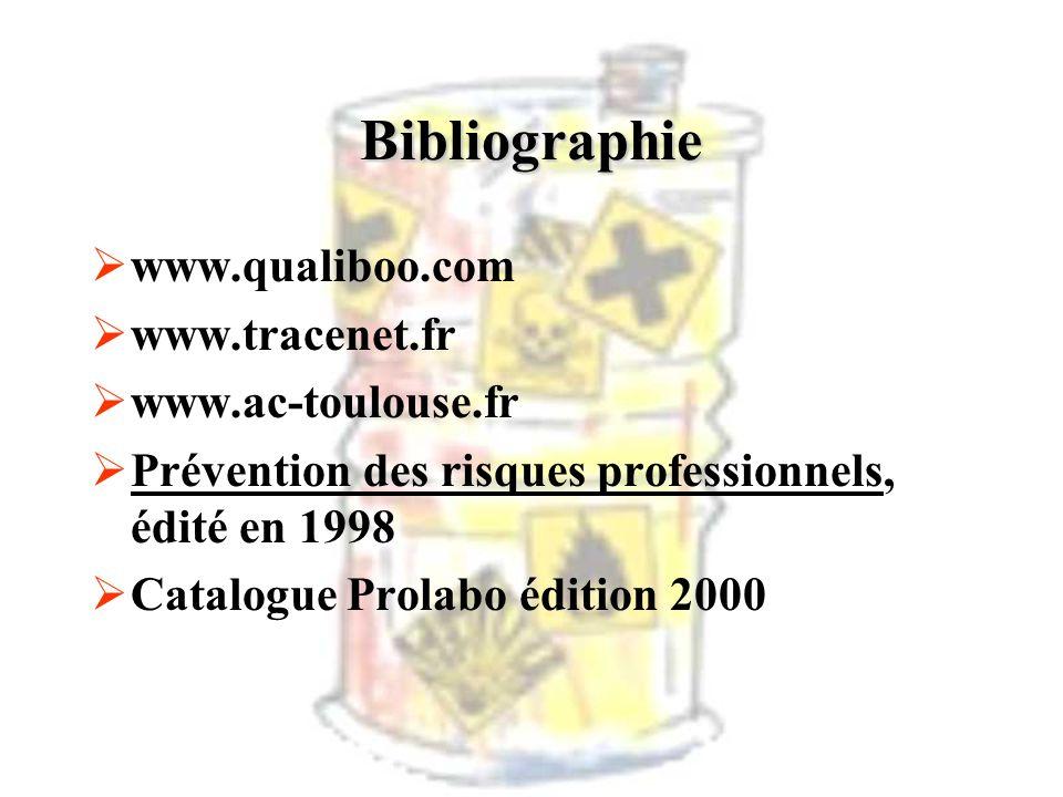 Bibliographie www.qualiboo.com www.tracenet.fr www.ac-toulouse.fr