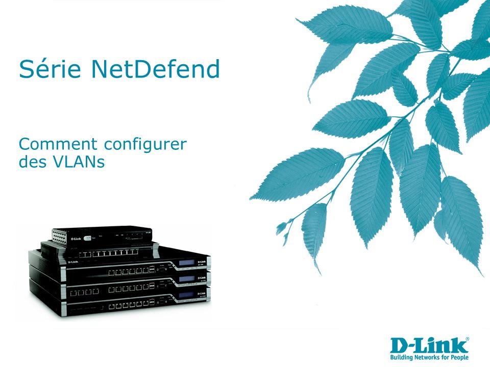 Série NetDefend Comment configurer des VLANs