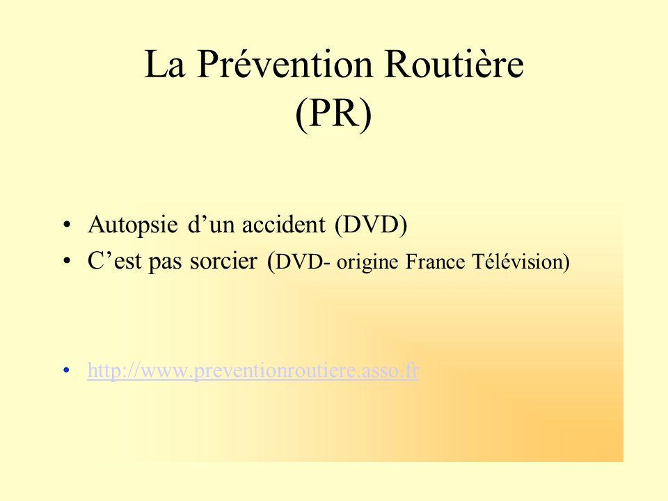 La Prévention Routière (PR)