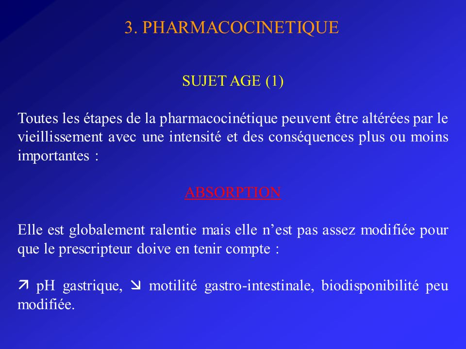 3. PHARMACOCINETIQUE SUJET AGE (1)