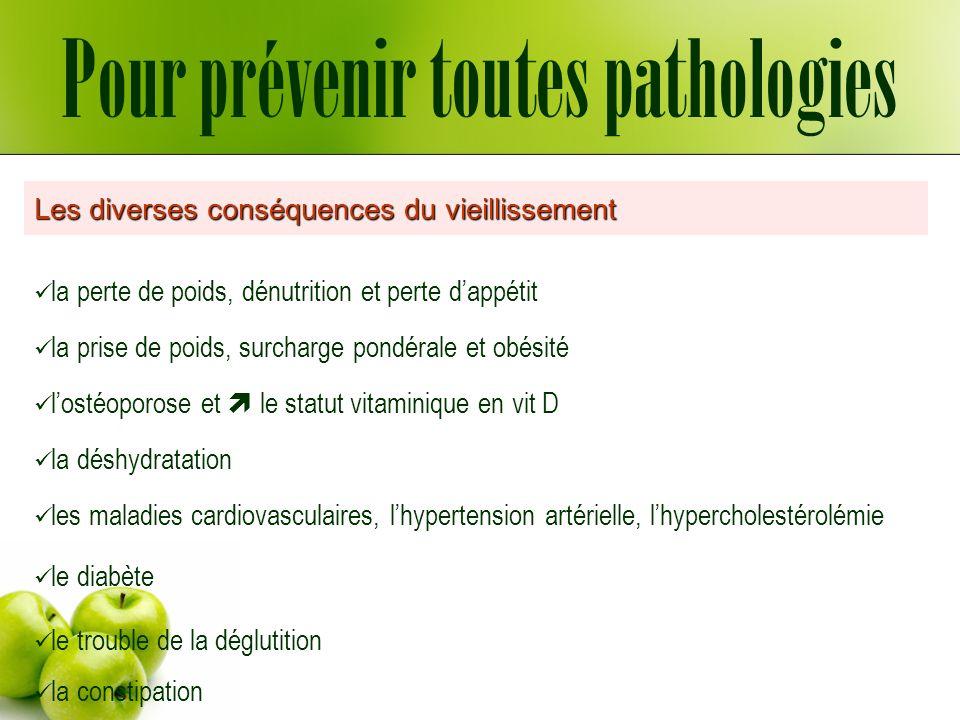 Pour prévenir toutes pathologies