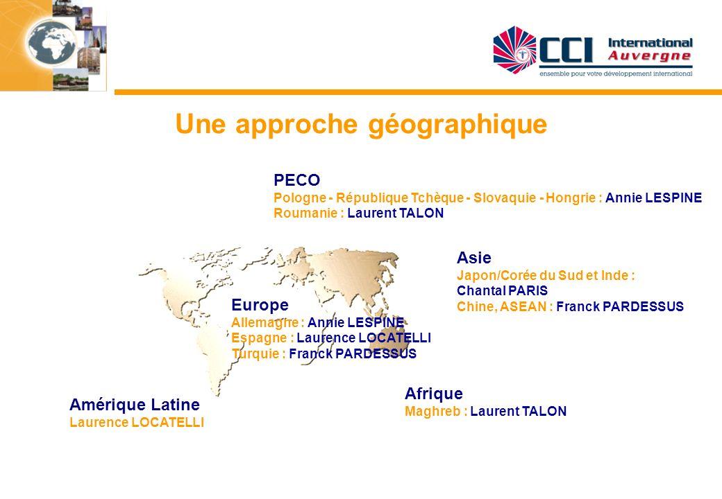 Une approche géographique