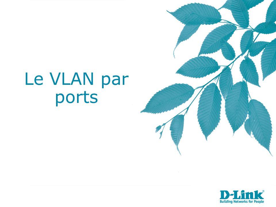 Le VLAN par ports