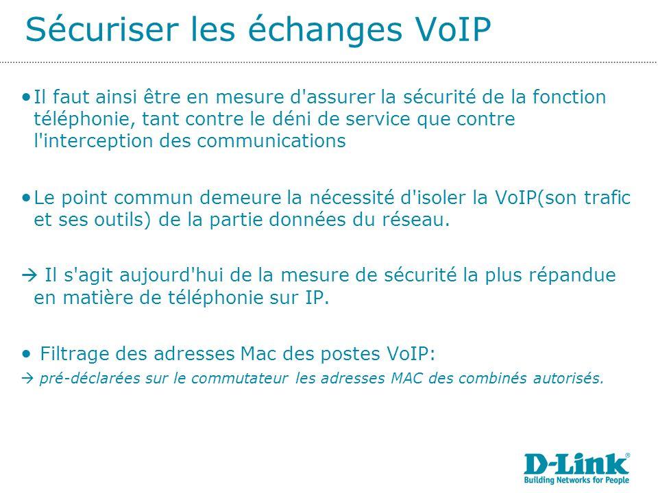 Sécuriser les échanges VoIP