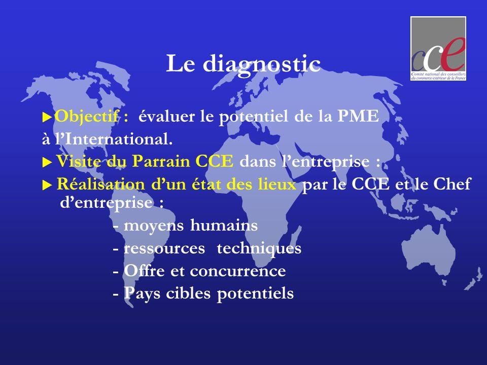 Le diagnostic à l'International. - moyens humains