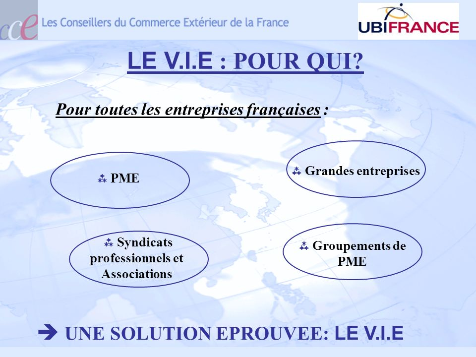  Syndicats professionnels et Associations
