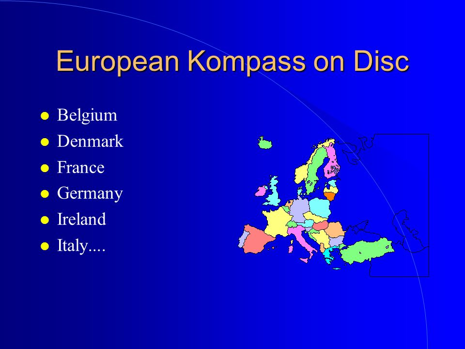 European Kompass on Disc
