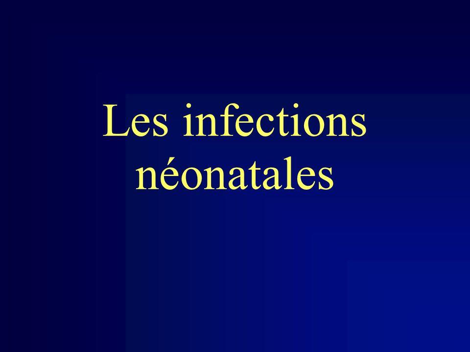 Les infections néonatales