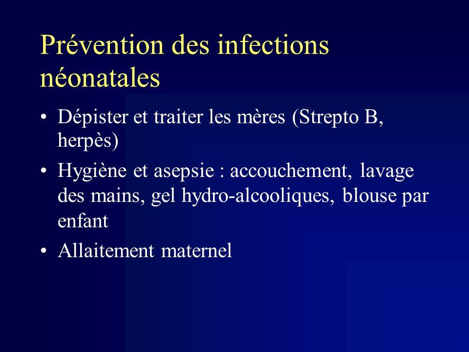 Prévention des infections néonatales