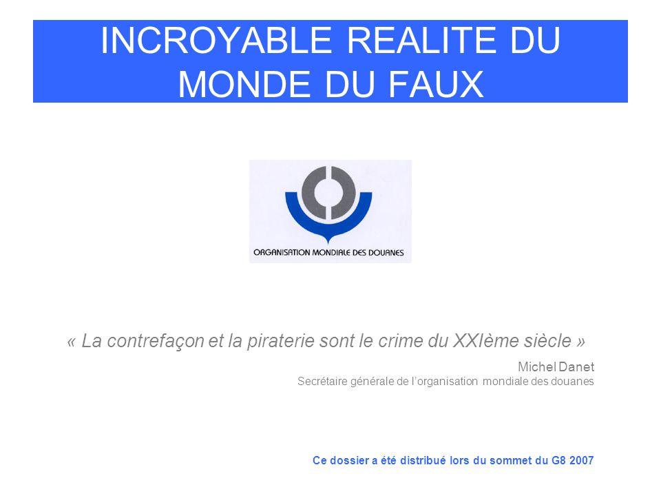 INCROYABLE REALITE DU MONDE DU FAUX