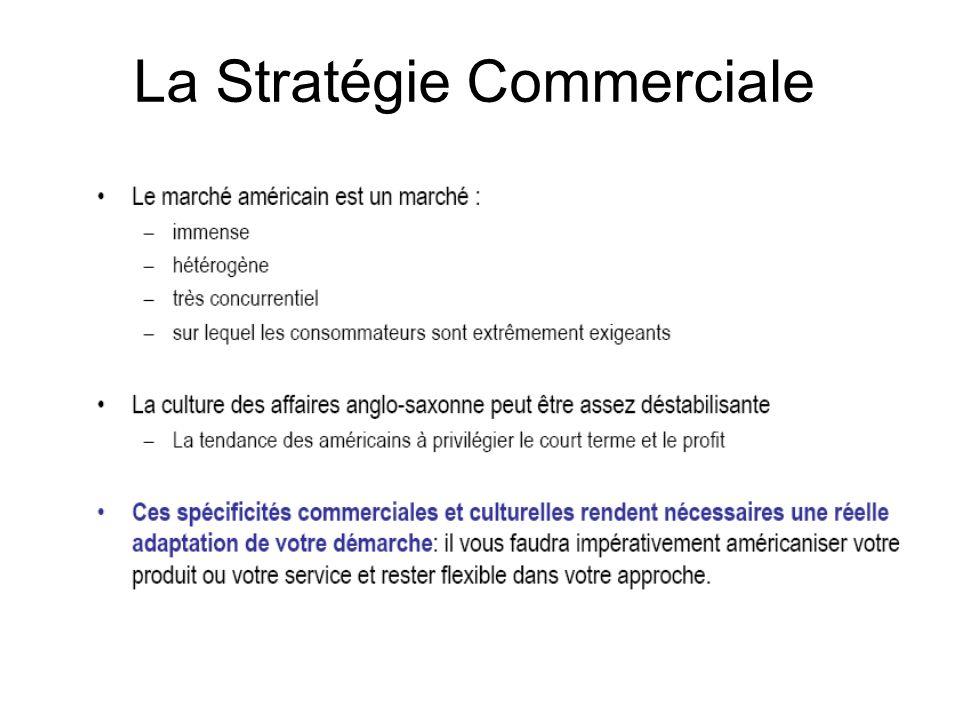 La Stratégie Commerciale