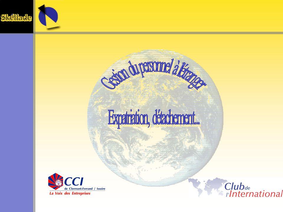 Gestion du personnel à l étranger Expatriation, détachement...