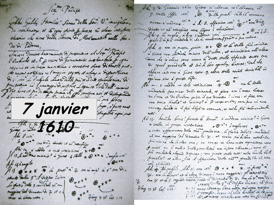 7 janvier 1610