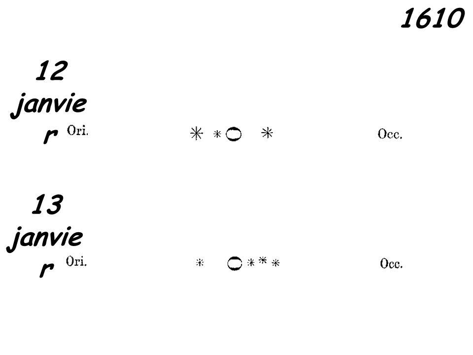1610 12 janvier 13 janvier