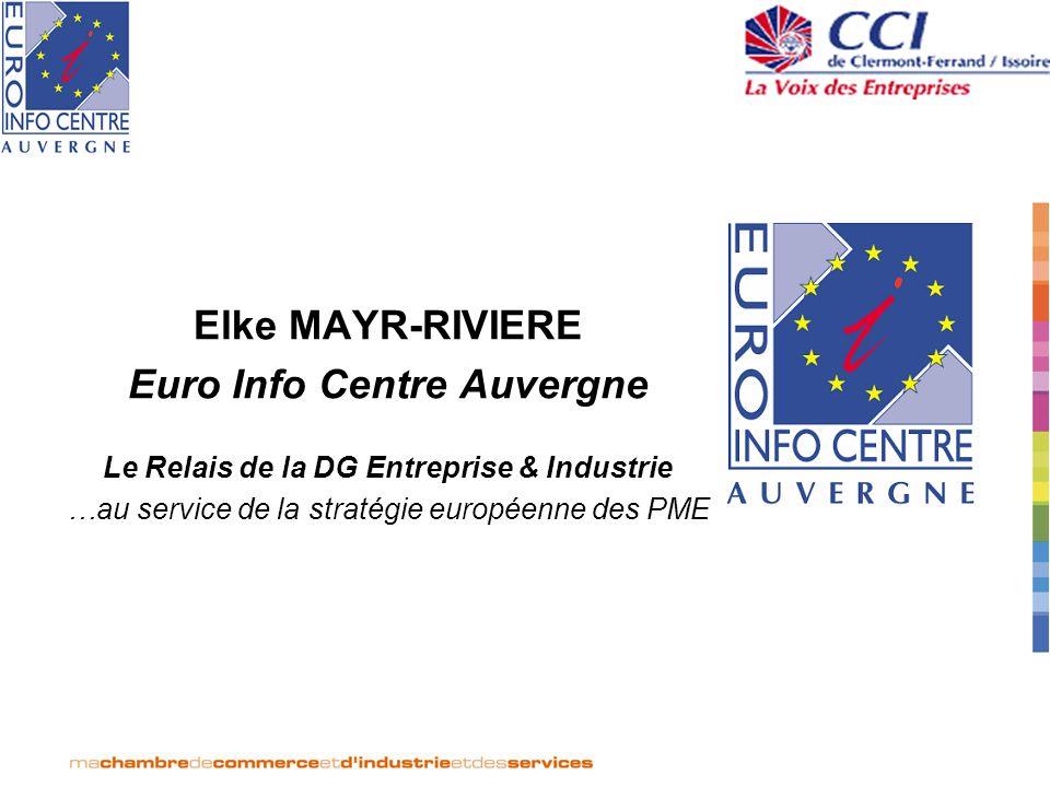 Le Relais de la DG Entreprise & Industrie