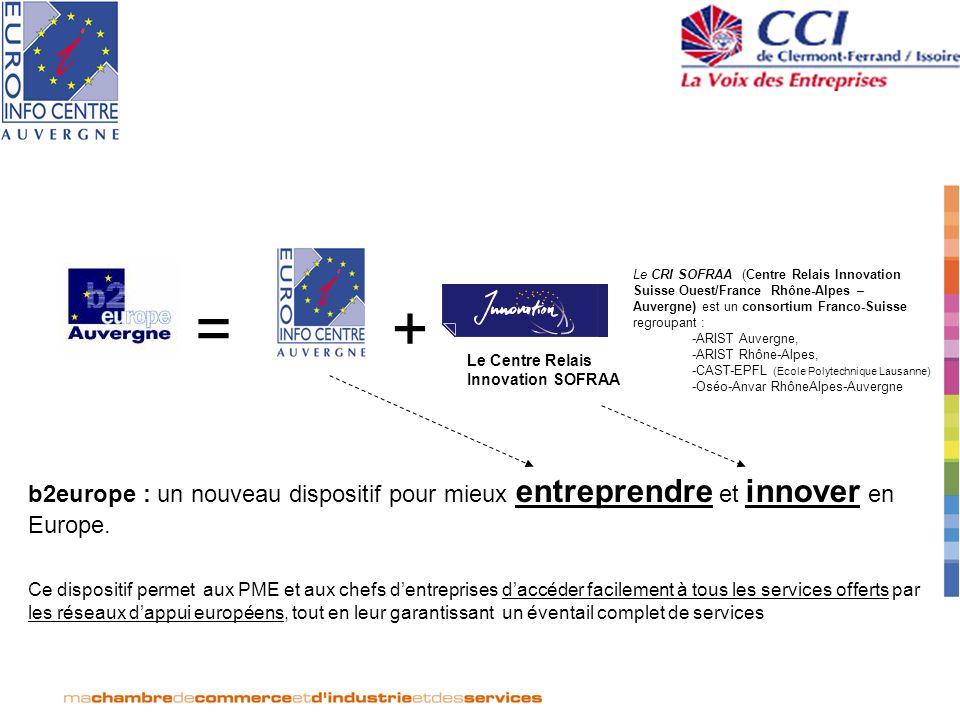 Le CRI SOFRAA (Centre Relais Innovation Suisse Ouest/France Rhône-Alpes – Auvergne) est un consortium Franco-Suisse regroupant :