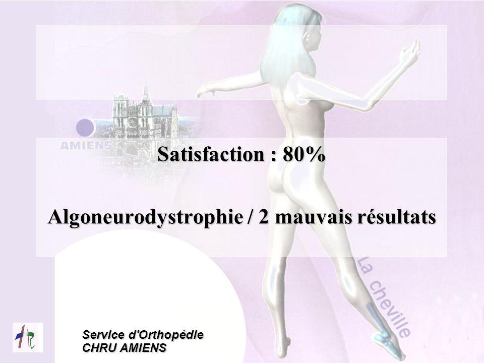 Algoneurodystrophie / 2 mauvais résultats
