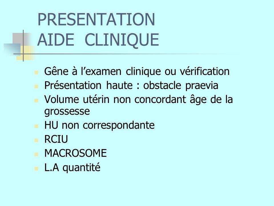 PRESENTATION AIDE CLINIQUE