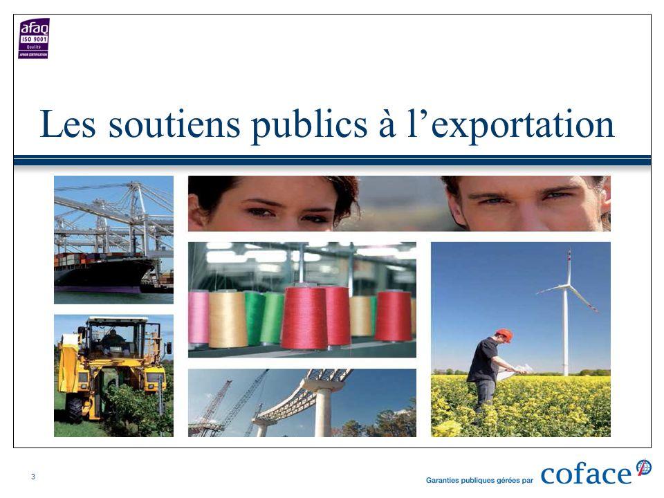 Les soutiens publics à l'exportation