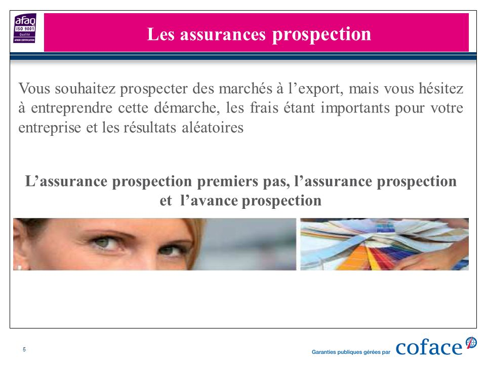 Les assurances prospection