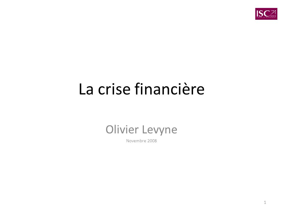 Olivier Levyne Novembre 2008