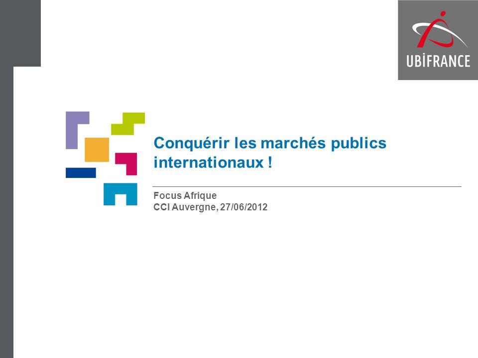 Conquérir les marchés publics internationaux