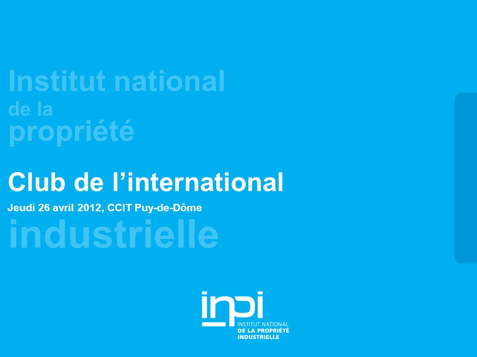 Club de l'international