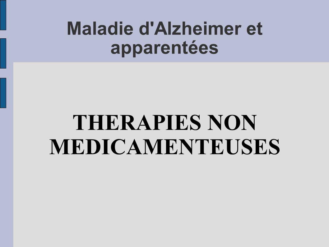 Maladie d Alzheimer et apparentées