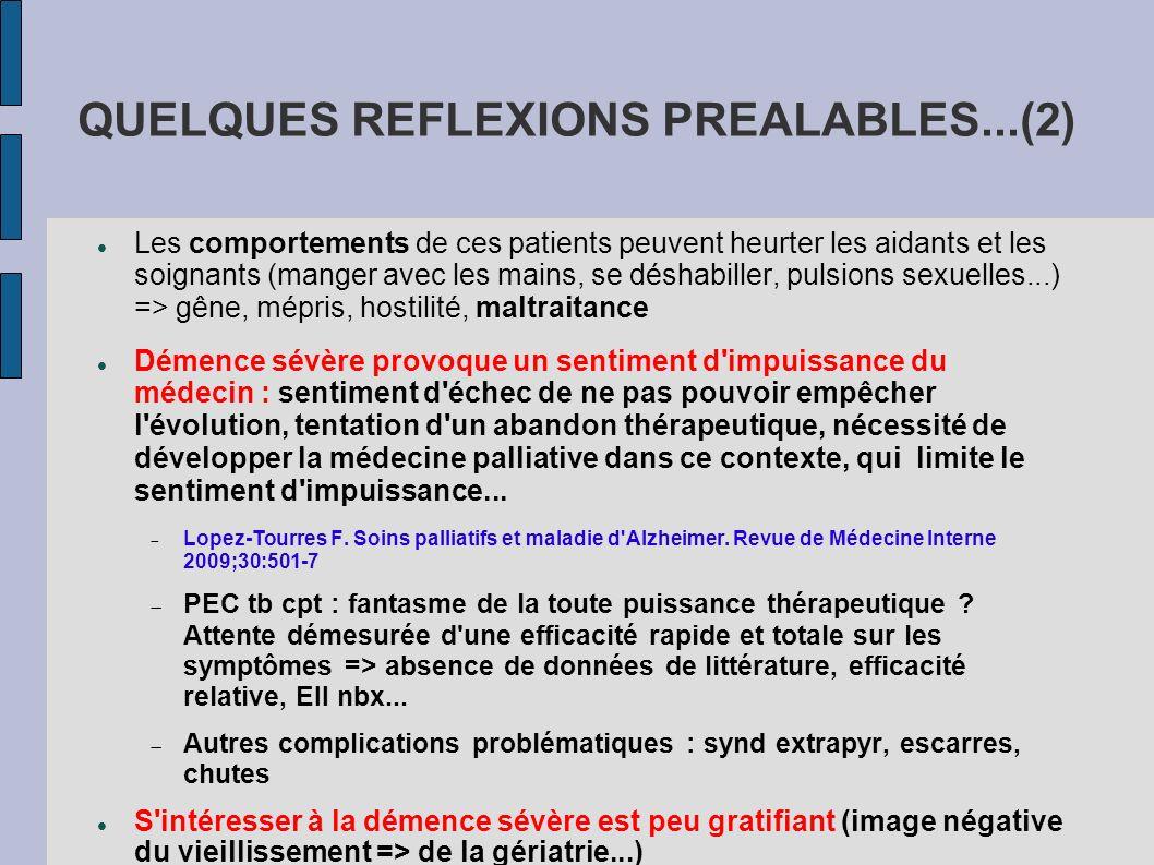 QUELQUES REFLEXIONS PREALABLES...(2)