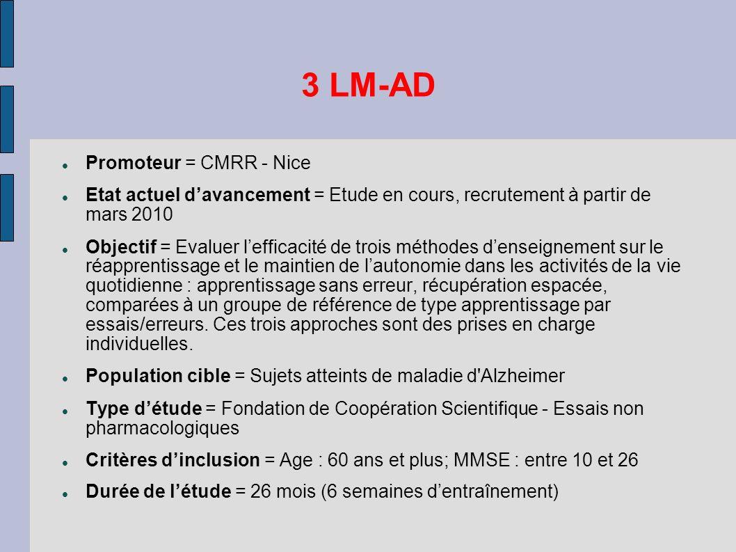 3 LM-AD Promoteur = CMRR - Nice