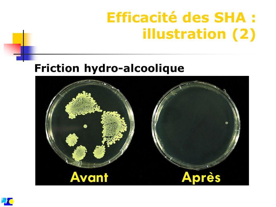 Efficacité des SHA : illustration (2)