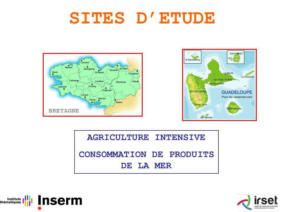 AGRICULTURE INTENSIVE CONSOMMATION DE PRODUITS DE LA MER